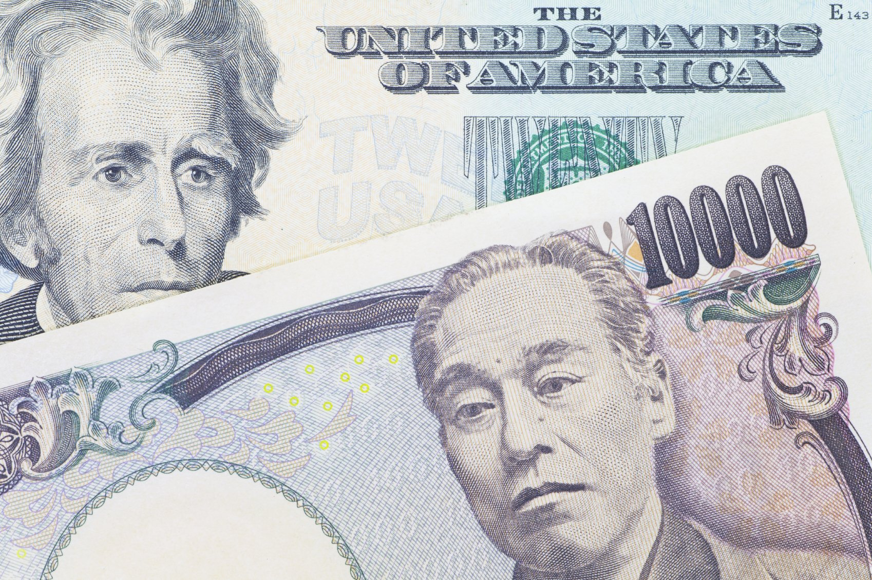 yen and us currency
