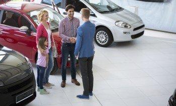 family buys car