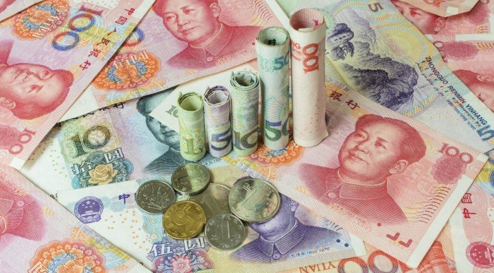 Chinese currency forming a graph, Appreciation of the Chinese yuan