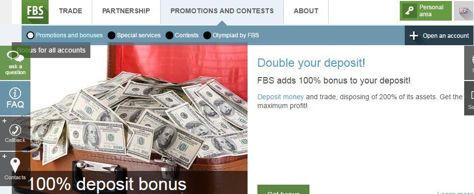 forex welcome bonus deposit
