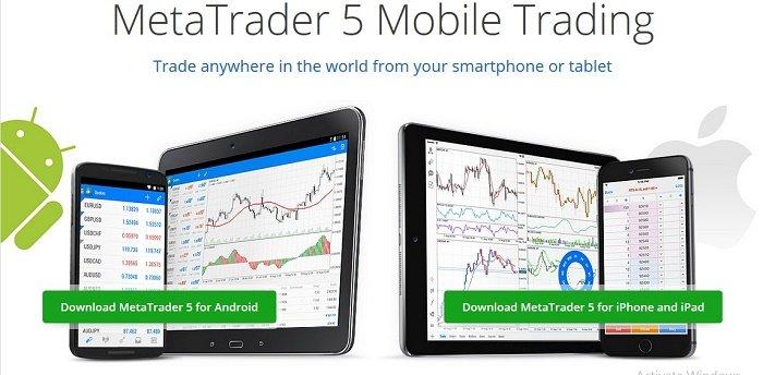 Metatrader 5 (MT5) forex trading platform