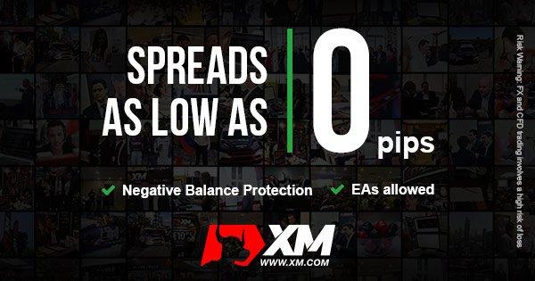 xm forex broker spread 0