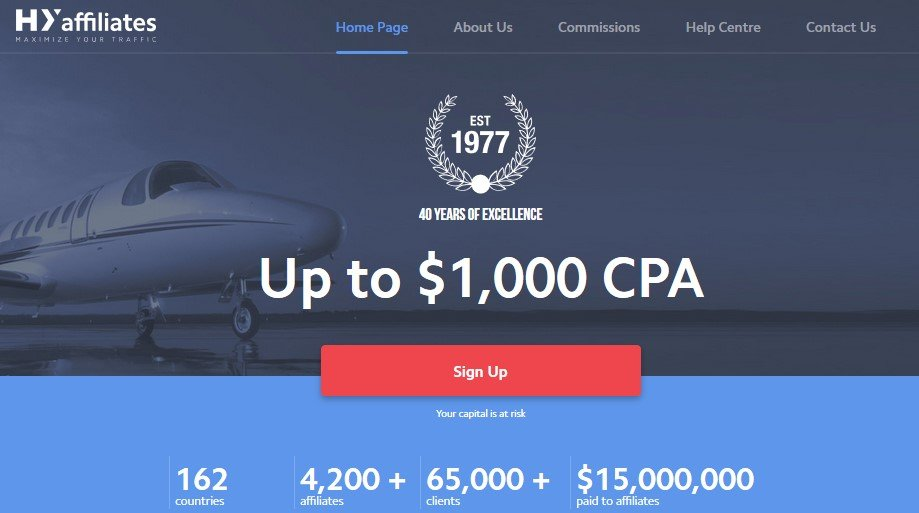 Cpa forex affiliate programs