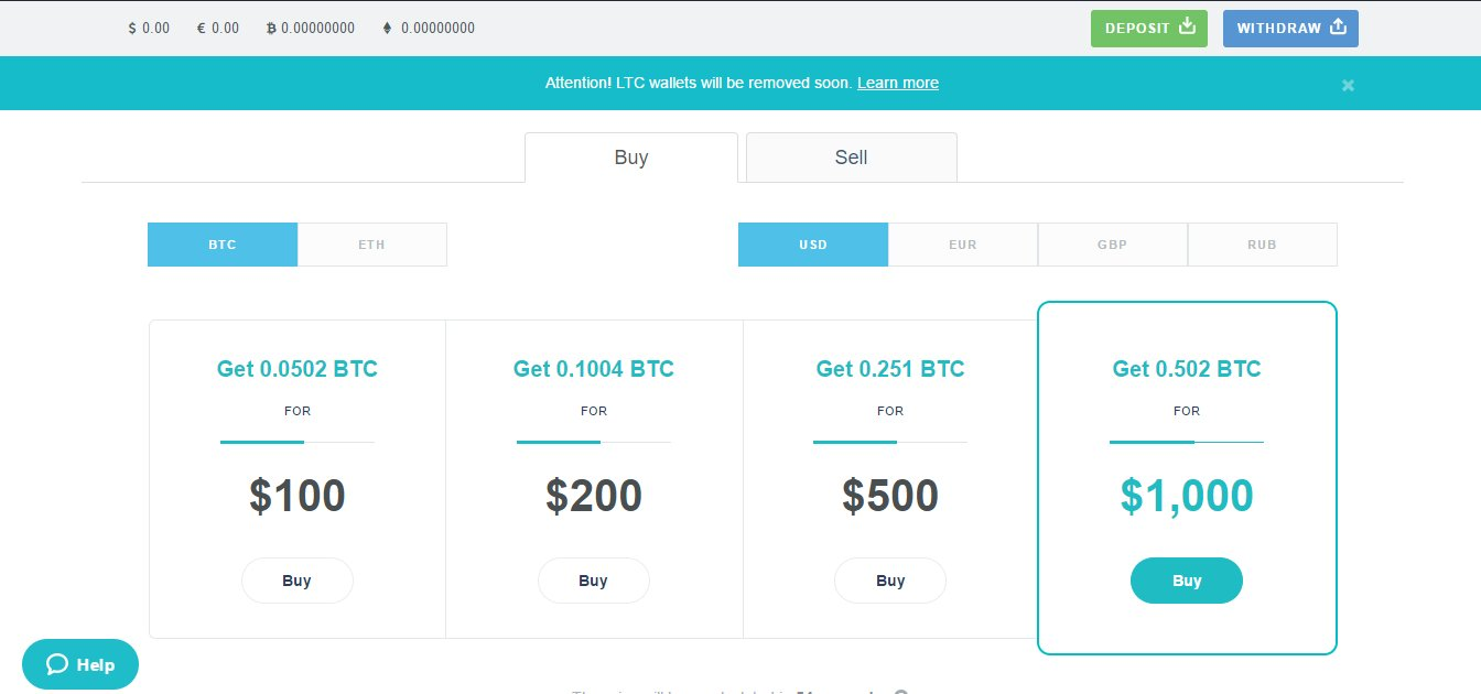 Buy Bitcoin in UK with credit or debit card