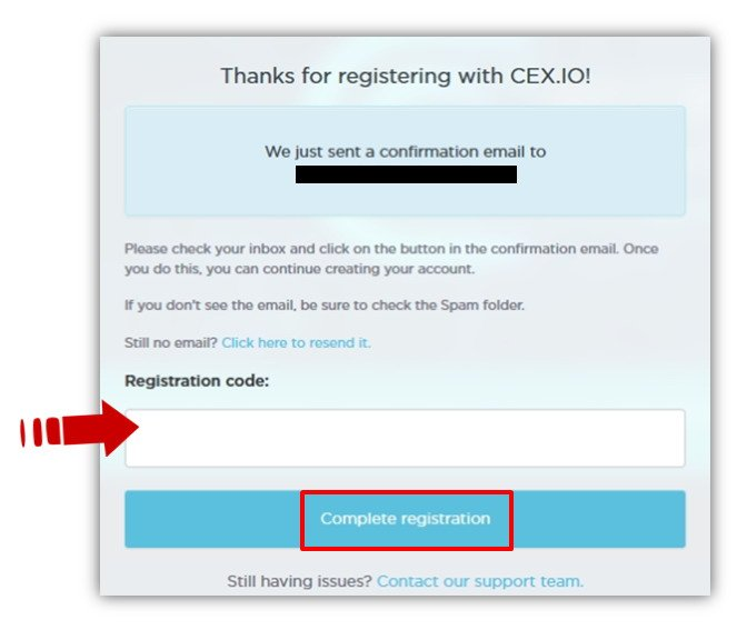 cex.io confirmation email