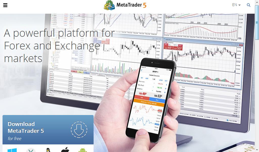MT5 Forex Trading Platform
