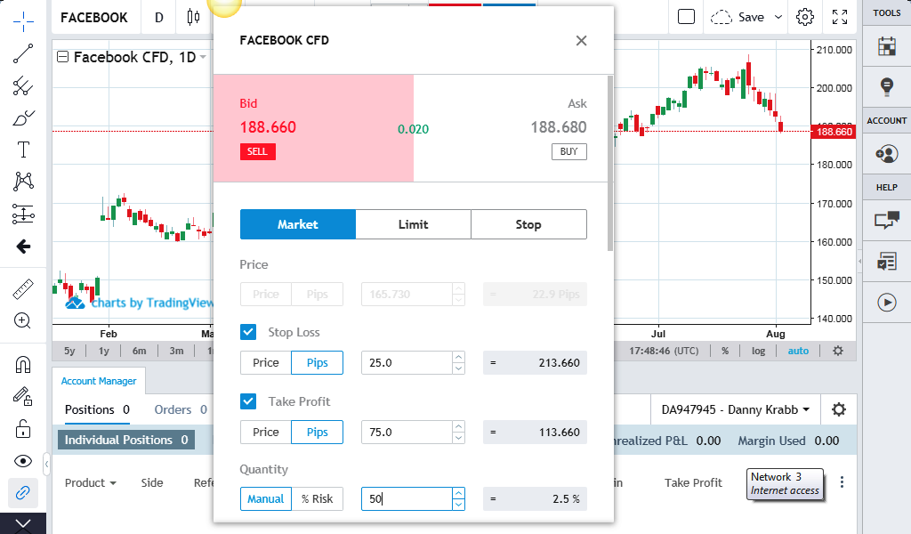 buy sell fb stock on forex.com platform