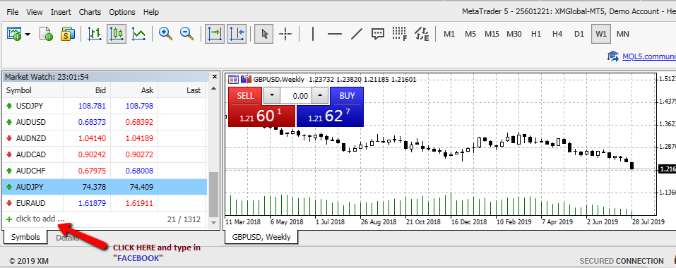 Share trading on XM forex cfd broker