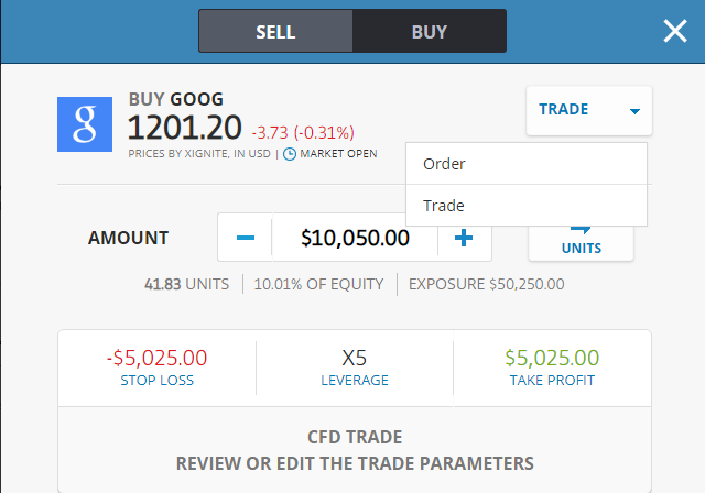 THE COMPLETE GUIDE HOW TO BUY AND SELL GOOGLE Shares (GOOG) on eToro