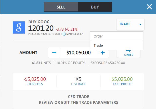 """LE GUIDE ENTIER COMMENT ACHETER ET VENDRE des partages GOOGLE (GOOG) sur eToro """"width ="""" 640 """"height ="""" 448 """"srcset ="""" https://fxdailyreport.com/wp-content/uploads/2019/11/Buy_sell_goog_stock_etoro .png 640w, https://fxdailyreport.com/wp-content/uploads/2019/11/Buy_sell_goog_stock_etoro-400x280.png 400w """"tailles ="""" (largeur maximale: 640px) 100vw, 640px"""
