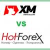 XM vs Hotforex trading broker