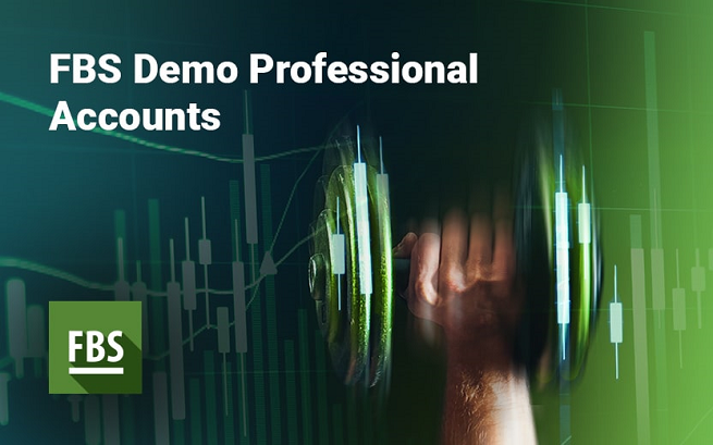 Demo professional account by FBS forex broker