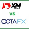 OCTAFX vs XM forex brokers comparison