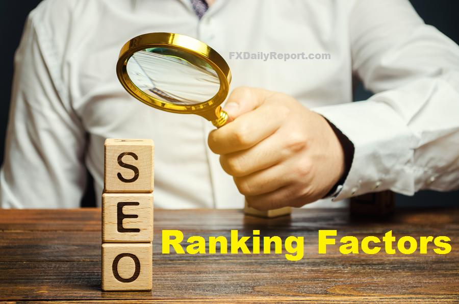 Top Ranking Factors for Google SEO
