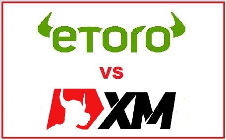 eToro vs. XM Forex and CFDs Trading Broker